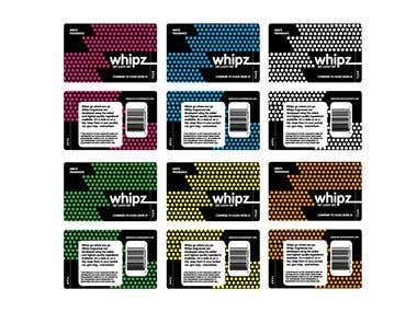 WHIPZ: PACKAGE DESIGN & BRAND IDENTITY