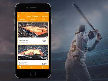 Baseball Ticket Booking App