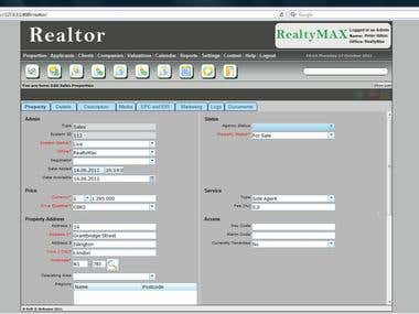 Realtor management system