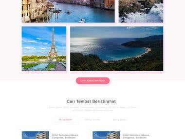 Traveling Website Design $50