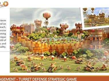 Turret Defense Strategy Multiplayer Game