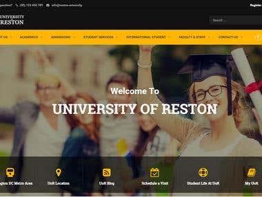 Reston University