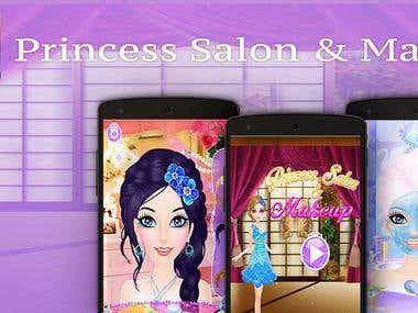 Princess Salon And Makeup