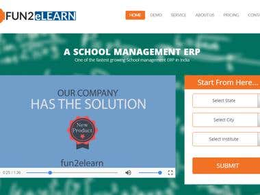 FUN2ELEARN - School Management ERP