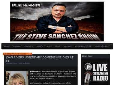 thestevesanchezshow.com