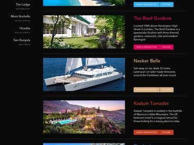 Tours Website http://www.virginlimitededition.com/en/