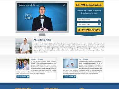 Personal Profile Website  http://www.jaredpolak.com/
