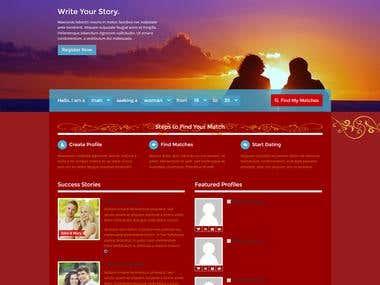Wordpress Wedding Website http://pure-love.co.uk/