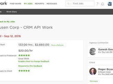 API Work