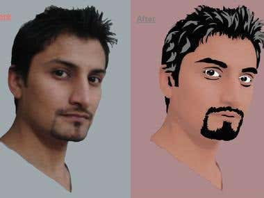 Cartoon Pic & Pic Logo