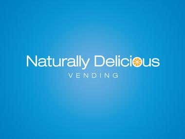 Naturally Delcious Vending Logo