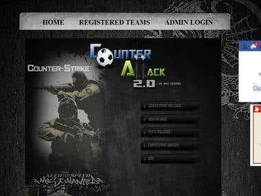 Gaming website.