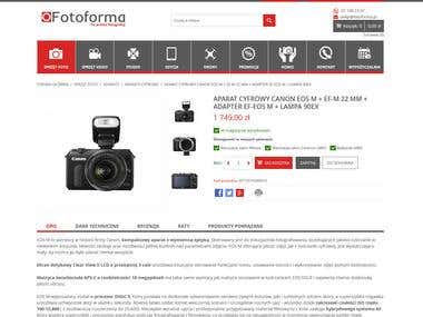 Magento Store Fotoforma.pl