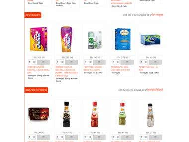 Shoppers Mark - Online Grocery Shop