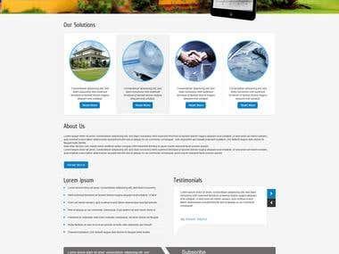 Real Estate Data Services Portal