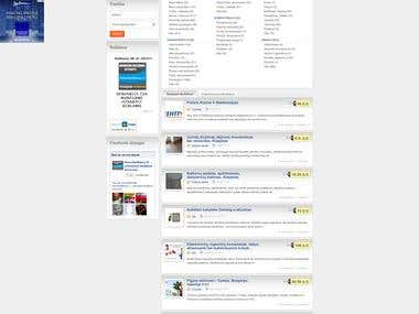 Adverts website http://www.manoskelbimas.lt
