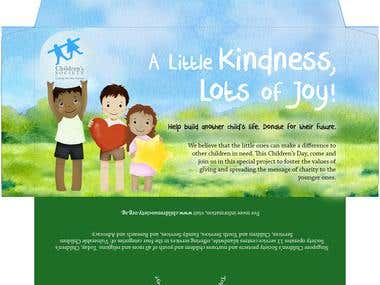 Flyer Design for Singapore Children's Society