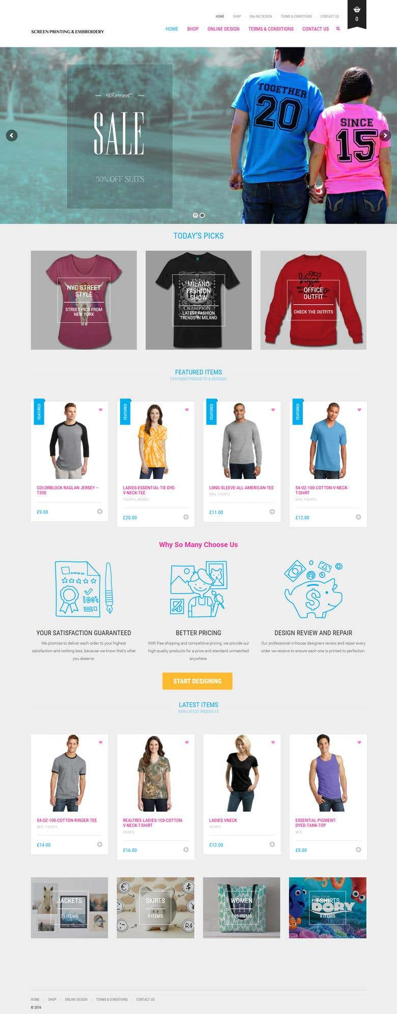 Screen Printing - Online Product Designer   Freelancer