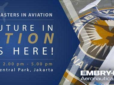 Embry-Riddle Aeronautical Uni, flyer & FB Banner Design