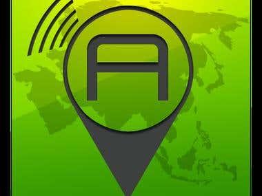 App icon 'Asia Locator'