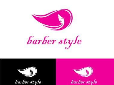 barber style logo