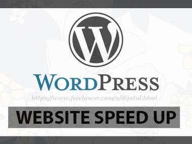 Speed-up any  Wordpress website