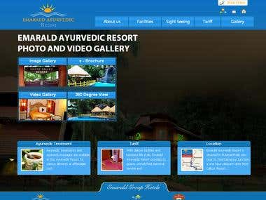 Ayurvedic Resort site