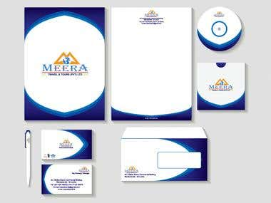 corporate identity for meera company