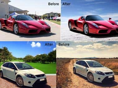 photo editing & retouching.