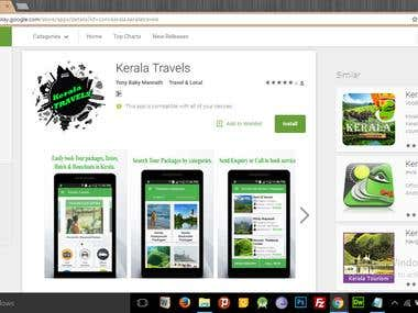 Kerala Travels Android App