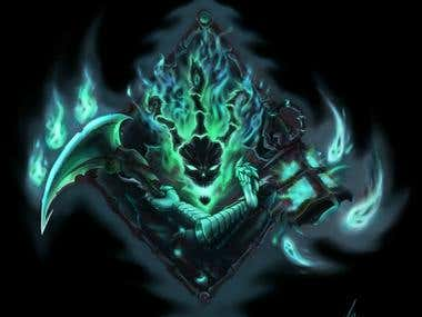 Thresh tattoo design