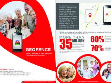 GeoFence - Brochure Design
