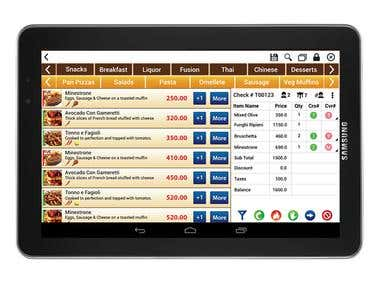 Mobile Point of Sales (POS) Solution