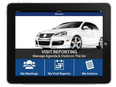 Visit Reporting Solution