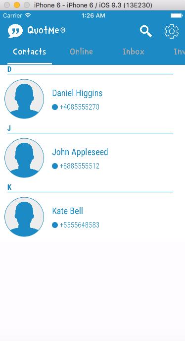 Instant Messenger App
