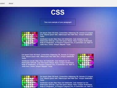 Basic HTML5 Page