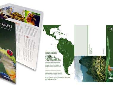 Central & South America - Brochure Design