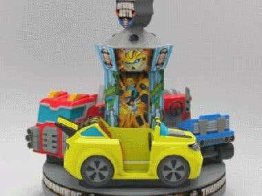 3D CAD Model for childrens ride
