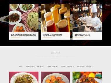 Hilltop Restaurant (E-Commerce)