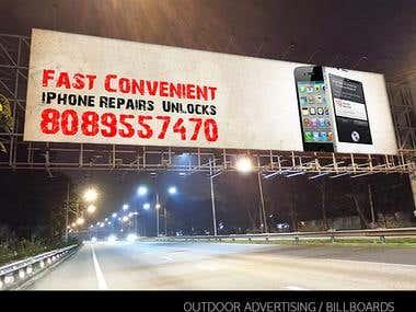 Advertising / Outdoor / Billboard designs