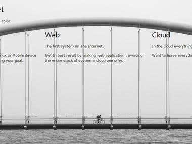 Responsive JS Framework Web design