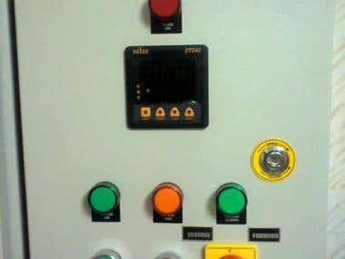 Cylinder Testing Panel