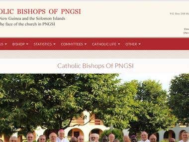 Catholic Bishop of PNGSI