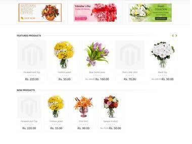 Gift flower site