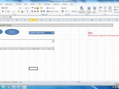 Excel Web Scrapper Project