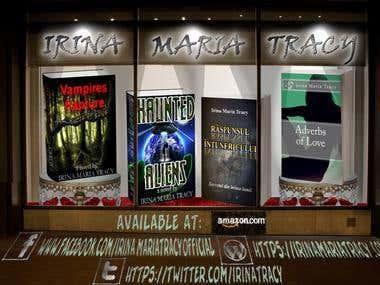 Author Banner Design