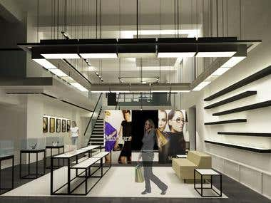 MaxMara Store Concept