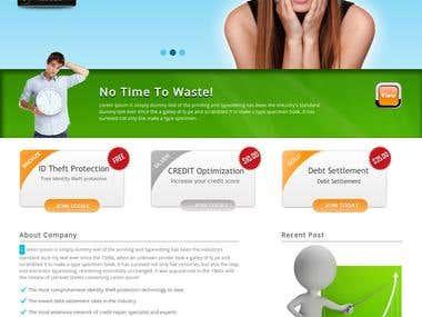 Website for lifecreditdebt company