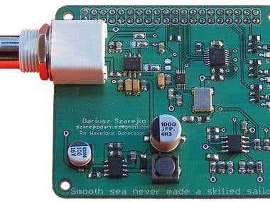 DDS generator for Raspberry Pi