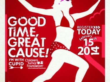 Cupids Undie Run Poster